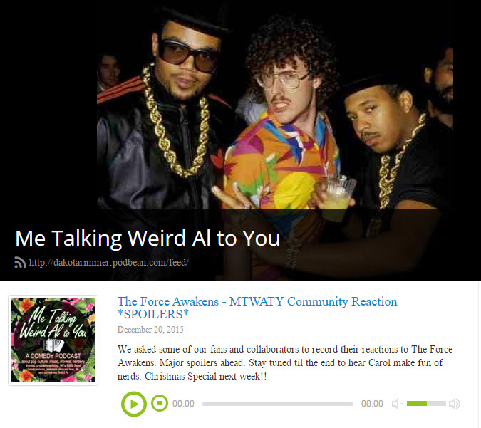 Talking Weird Al